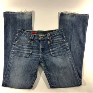 AG Adriano Goldschmied the Logic flap jeans